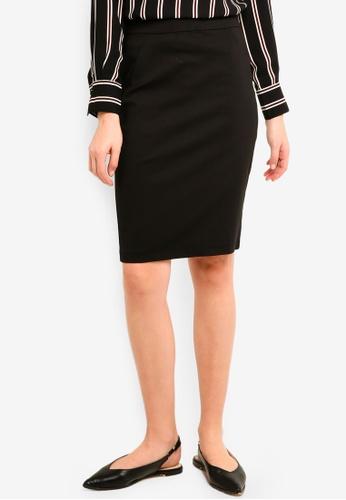 Vero Moda black Victoria Pencil Skirt 1BED9AADF6D390GS_1