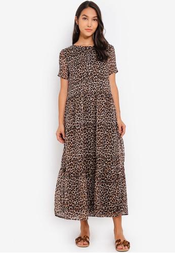 ec932b215dbf Buy Pieces Casandra SS Midi Dress Online on ZALORA Singapore