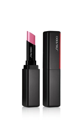 Shiseido pink Shiseido Makeup VisionAiry Gel Lipstick,205 Pixel Pink 3C278BE70750CBGS_1