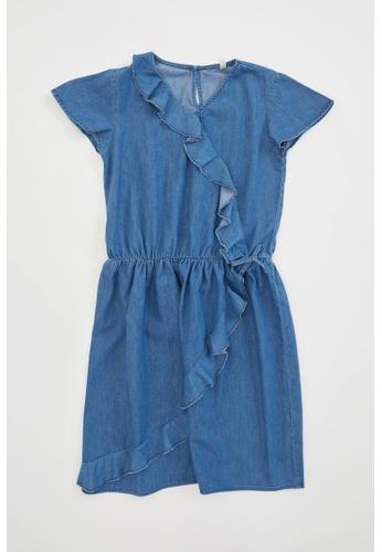 DeFacto blue Girl Denim Dress 0879BKA51178FAGS_1