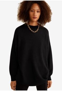 b82500dab3d Mango black Oversized Sweater 61FA5AA5C14966GS 1