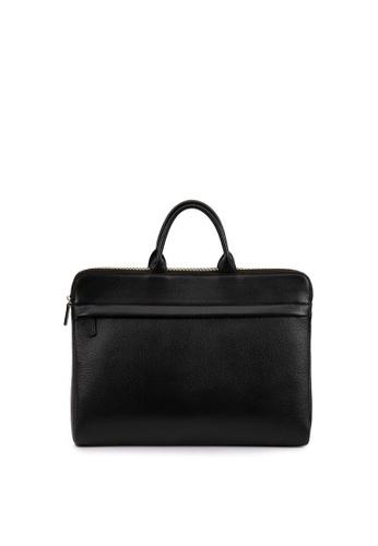 Della Stella black Laptop Bag 4C8BDAC522F696GS_1