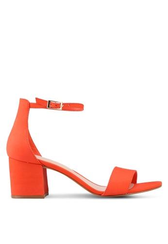 ALDO orange Villarosa Heeled Sandals AA097SHD5CB63CGS_1