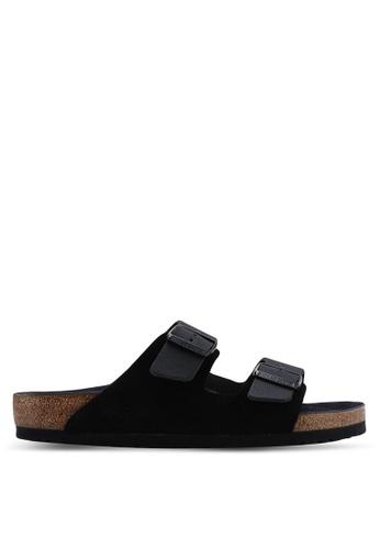 0b243f1dd9a2 Buy Birkenstock Arizona Natural Leather Sandals Online on ZALORA Singapore
