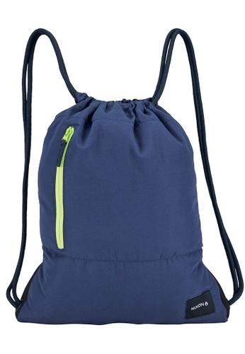Nixon blue Everyday Cinch Bag - (C24292642) NI855AC0H8Y5SG_1