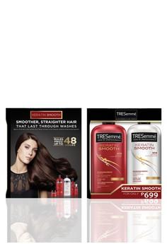 Shampoo & Conditioner Pack Keratin Smooth 600ML