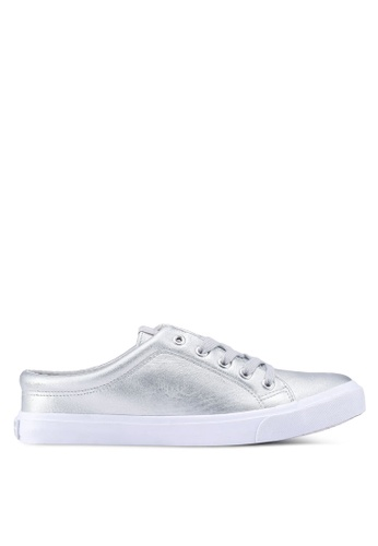 North Star silver North Star Backless Sneakers 71EF0SHBC907B5GS_1