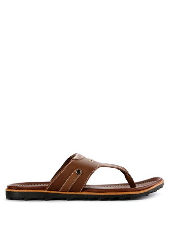 CARVIL brown Carvil Sandal Casual Man Hercules-01 Brown 2E143SHFB80E1DGS_1
