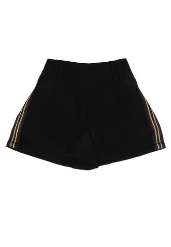 FOX Kids & Baby black Side Stripe Detail Shorts 9212FKA7730562GS_1