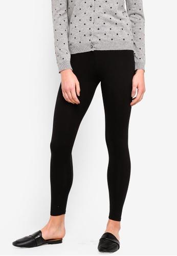 OVS black Stretch Cotton Leggings 04F23AA461F060GS_1