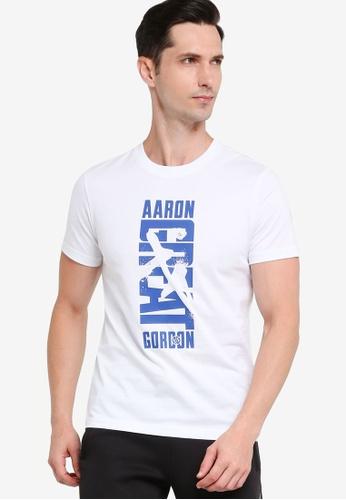 361° white Basketball Series Short Sleeve T-shirt D2DFBAA2E6C51DGS_1
