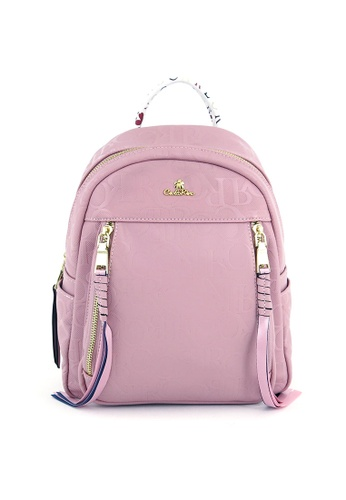 Carlo Rino purple Pinkish Purple Bags of Enchantment Backpack A840EAC24A4C43GS_1