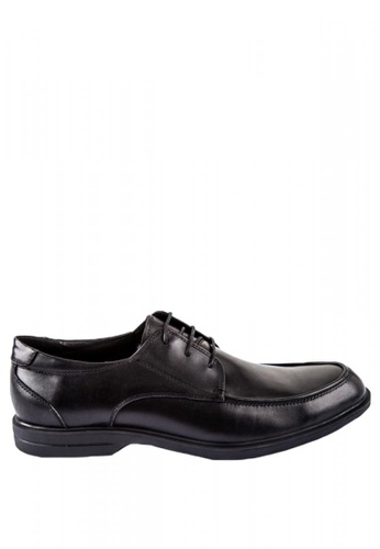 Otto black Lace up Derby Shoes 0784BSH53687DEGS_1