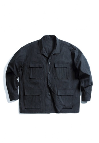 Twenty Eight Shoes black VANSA Multi pockets overalls Coat  VCM-C2007166 6692AAA5086161GS_1