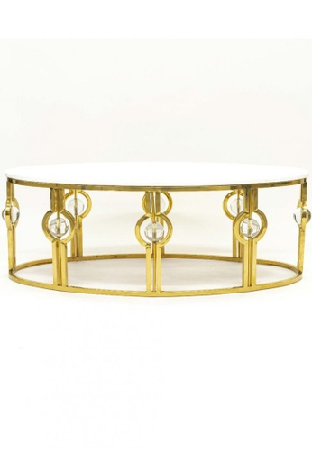 Choice Furniture gold Choice Furniture - Cappearl Coffee Table 2B8B9HL0421E75GS_1