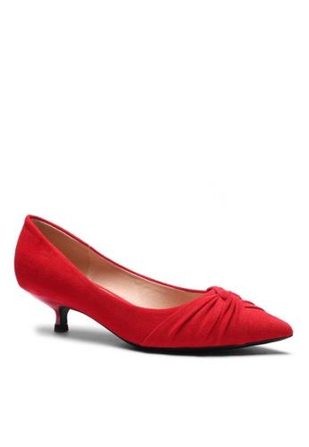 Twenty Eight Shoes Suede Fabric Mid Heel 295-21 BFAACSHD002470GS_1