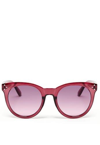 MARKS & SPENCER pink Preppy Round Sunglasses FAE5CGLBC50793GS_1