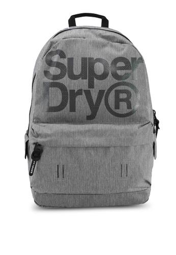 SUPERDRY grey Logo Montana Rucksack - Sportstyle Code 8C474ACCFB880BGS_1