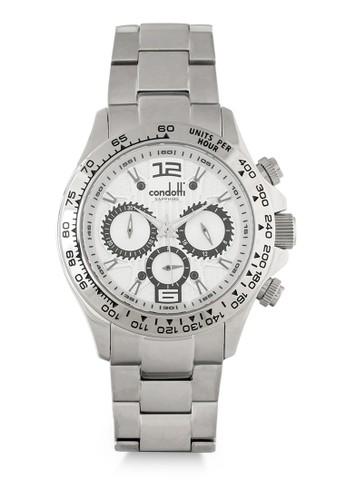 Condotti silver Jam Tangan Pria CN7094-S01-S02 8450DACB620213GS_1