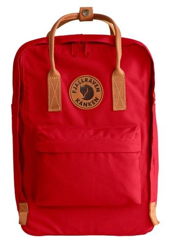Fjallraven Kanken red Deep Red Kanken No.2 Laptop Backpack C003EACF4A613DGS_1