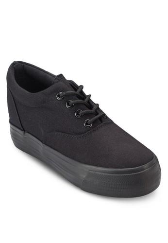 厚底繫帶運動鞋、 女鞋、 鞋TwentyEightShoes厚底繫帶運動鞋最新折價