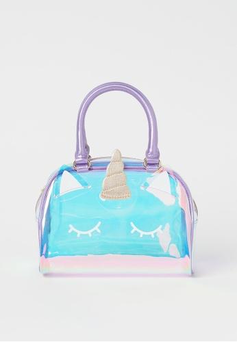 H&M purple Shimmering unicorn bag 1BB11KCEF27DCDGS_1