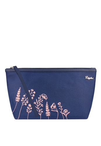 Ripples blue Ripples Estella Floral Ladies Cosmetic Pouch 35A72BE206816FGS_1