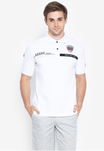 9088e41449e5c Kappa white Racing Collection Regular Fit Polo Shirt 0D59CAA8DAA5D3GS 1.  CLICK TO ZOOM