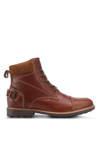 ALDO brown Marrok Boots 7141FSHD0888E5GS_1