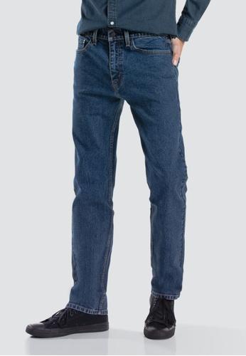 fc09cf34112 Levi's blue Levi's 505 Regular Fit Jeans Men 00505-1692 6D266AA2418B8EGS_1