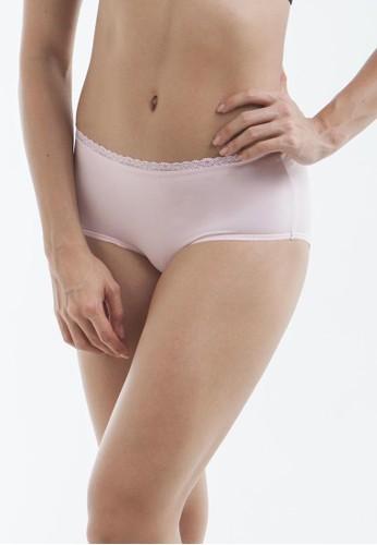 Raquel Lingerie pink Caitlyn Pink High-Waist Panty RA363US09SJUID_1
