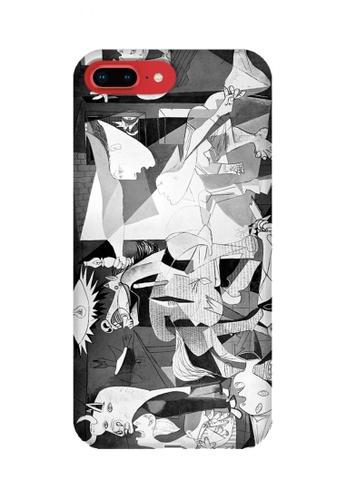 Wonder Cover grey Guernica Hard Case for iPhone 8 Plus CA801AC75DE7CBGS_1