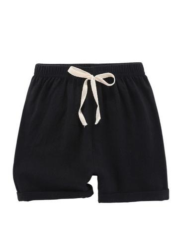 RAISING LITTLE black Mard Shorts B6E64KAC3E3C3FGS_1
