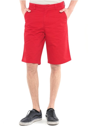 POLO HAUS red Polo Haus - Short Pant (Red) PO783AA13FRAMY_1