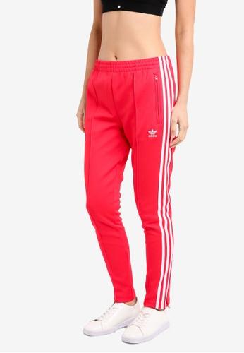 adidas red adidas originals sst training pants AD372AA0SUGYMY_1