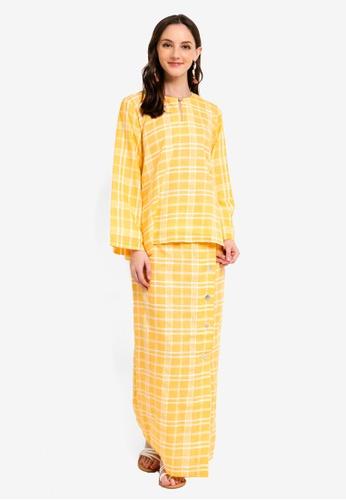 Kurung Kedah Salor from Jari Alana RTW in Yellow