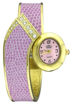 Seth Lightweight Snake-Bangle Wrist Watch