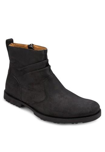 East Harbor 側拉esprit台灣鍊切爾西短靴, 鞋, 鞋