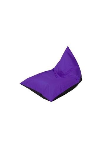 doob black and purple PLATOOPAT - dumpling-shaped doob bean bag lounger (Cola Grape) CC4BBHL5412816GS_1