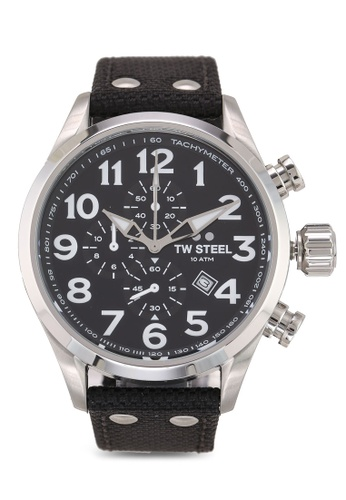 TW Steel black Volante VS3 Watch 20A7BACC2FB715GS_1