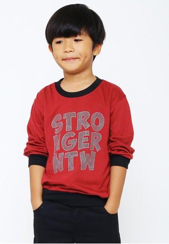 NATAWA red Natawa Kaos Anak Merah B7BA5KA4EEB9ACGS_1