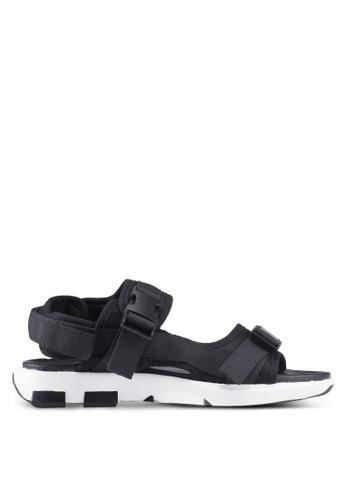 Rubi 黑色 Amy Sporty 涼鞋 2CDF7SHC75935BGS_1