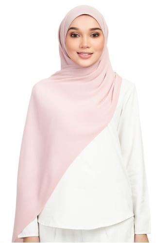 DONNINGDONNA pink Euphoria Pleats - LovePink Shawl 21F5CAAEB88FBAGS_1
