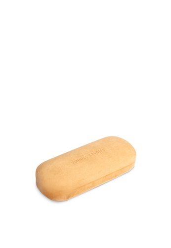 Sunnies Studios brown Velvet Hard Case Gingerbread C6B17ACBC26F95GS_1