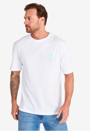 Trendyol white Oversized T-Shirt 3966DAA75831ABGS_1