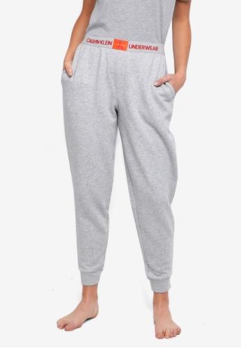 Calvin Klein grey Monogram Joggers - Calvin Klein Underwear D7526AAA05DF8BGS_1
