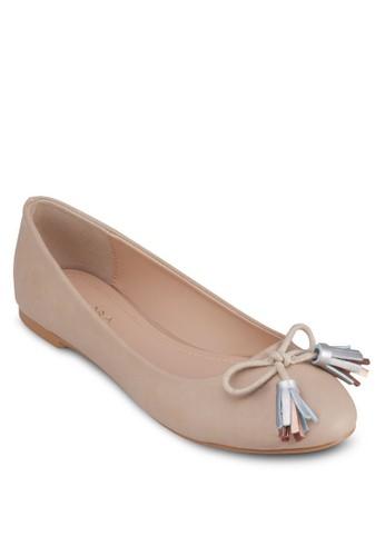 流zalora 手錶 評價蘇蝴蝶結平底鞋, 女鞋, 芭蕾平底鞋