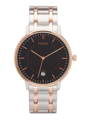 Anton 圓框鍊錶、 錶類、 飾品配件FjordAnton圓框鍊錶最新折價