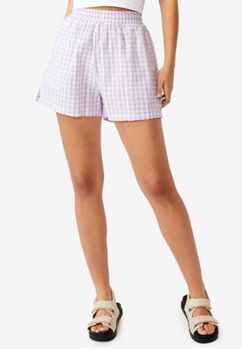 Cotton On purple Sunseeker Shorts 2C747AA600B8FCGS_1