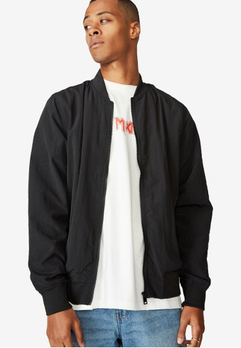 Cotton On black Resort Bomber Jacket E82F5AA37E1B95GS_1